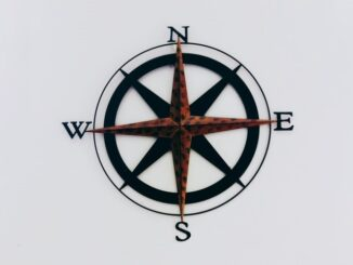 North South On Compass