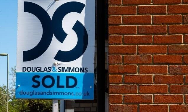 property listing sold sign