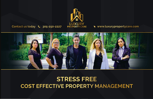 picture of team at luxury property care